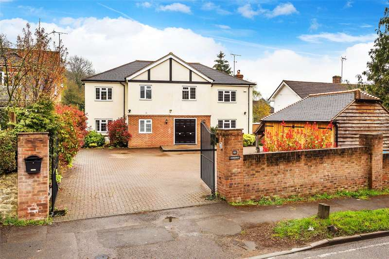 5 Bedrooms Detached House for sale in Chalkpit Lane, Oxted, Surrey, RH8