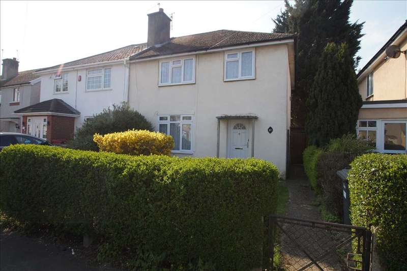 3 Bedrooms Semi Detached House for sale in Abbotts Way, Cippenham, Slough