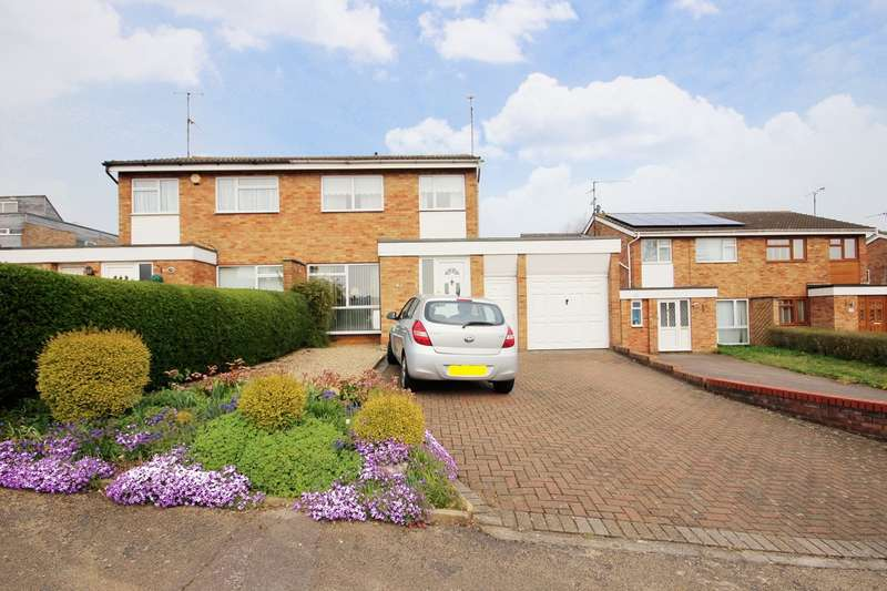 3 Bedrooms Semi Detached House for sale in Russell Drive, Ampthill, Bedfordshire, MK45