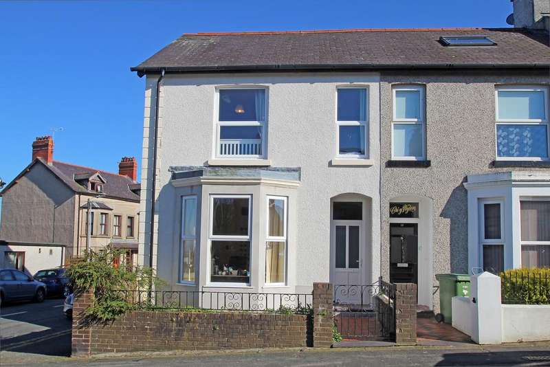 6 Bedrooms End Of Terrace House for sale in Orme Road, Bangor, North Wales