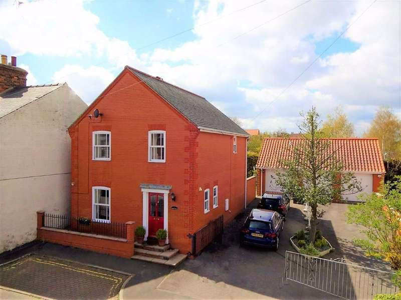 4 Bedrooms Detached House for sale in Ashley Road, Louth