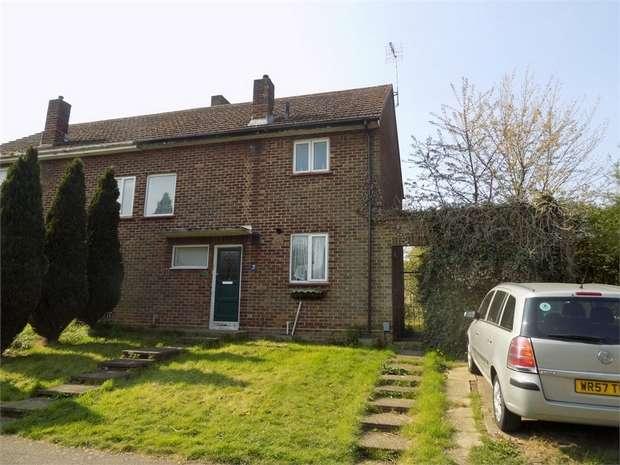2 Bedrooms Semi Detached House for sale in Weston Avenue, Leighton Buzzard, Bedfordshire
