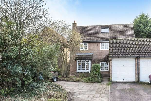 5 Bedrooms Detached House for sale in Vicarage Green, Thurleigh, Bedford