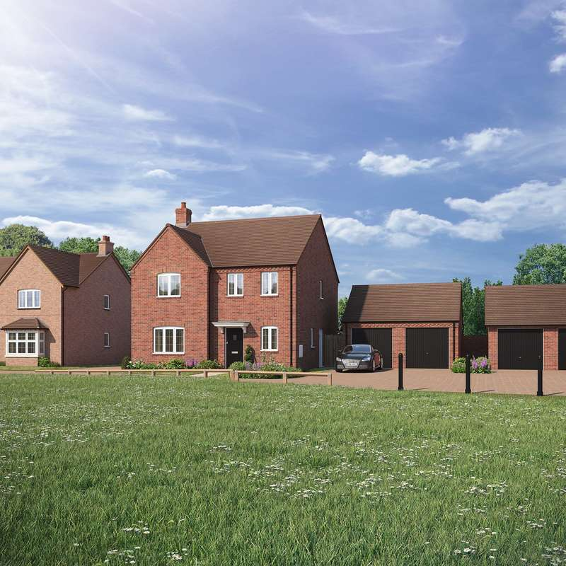 4 Bedrooms Detached House for sale in Bransford Road, Rushwick, Worcester, WR2