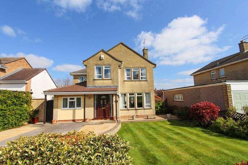 4 Bedrooms Detached House for sale in Manor Road, Keynsham, Bristol