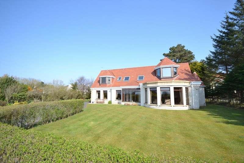 5 Bedrooms Detached Villa House for sale in West Lodge Southwood Road, Troon, KA10 7EL