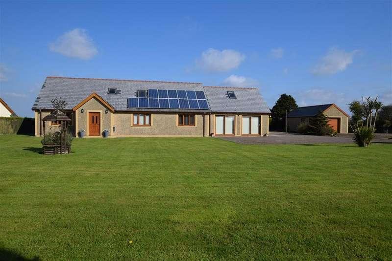 5 Bedrooms Detached Bungalow for sale in Freystrop