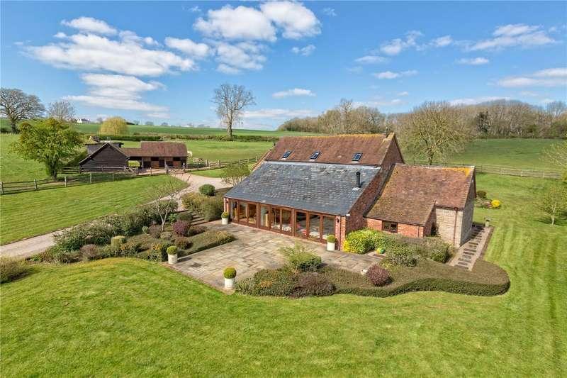 4 Bedrooms Barn Conversion Character Property for sale in Astbury Barn, Astbury, Bridgnorth, Shropshire, WV16