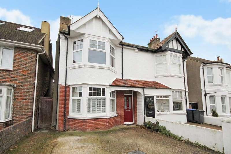 4 Bedrooms Semi Detached House for sale in Underdown Road, Southwick, Brighton, East Sussex BN42 4HL