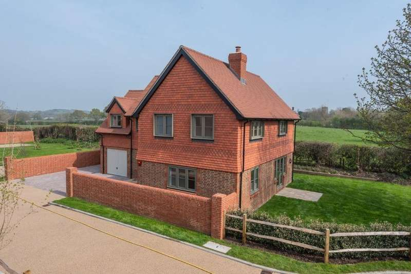 4 Bedrooms Detached House for sale in Church Lane, Ripe, East Sussex, BN8