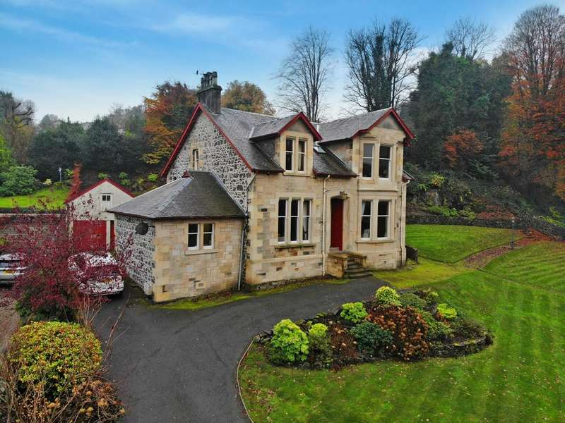4 Bedrooms Detached House for sale in Ochtertyre Gryffe Road, Bridge of Weir, PA11 3AL