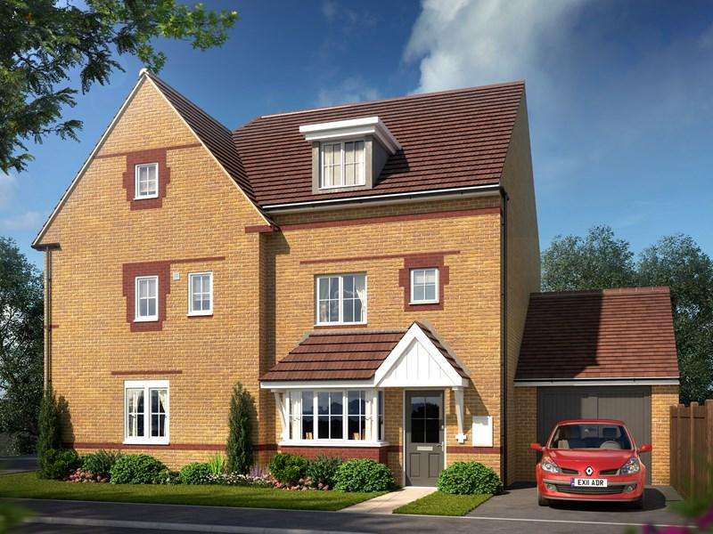 4 Bedrooms Semi Detached House for sale in Bilbie Green, Keynsham, Bristol