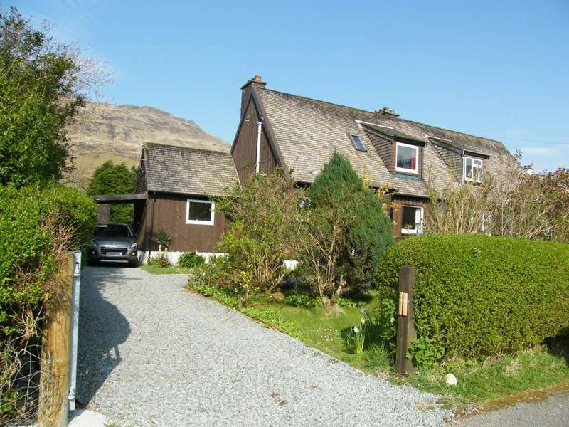 3 Bedrooms Semi Detached House for sale in 1 Forestry Houses, Eynort, Carbost IV47