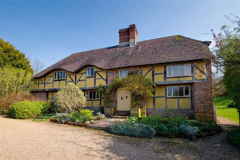 5 Bedrooms Detached House for sale in Longwood Dean, Hampshire, SO21