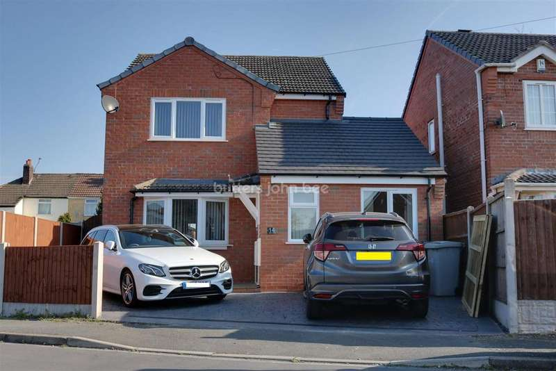 3 Bedrooms Detached House for sale in Ellis Street, Crewe