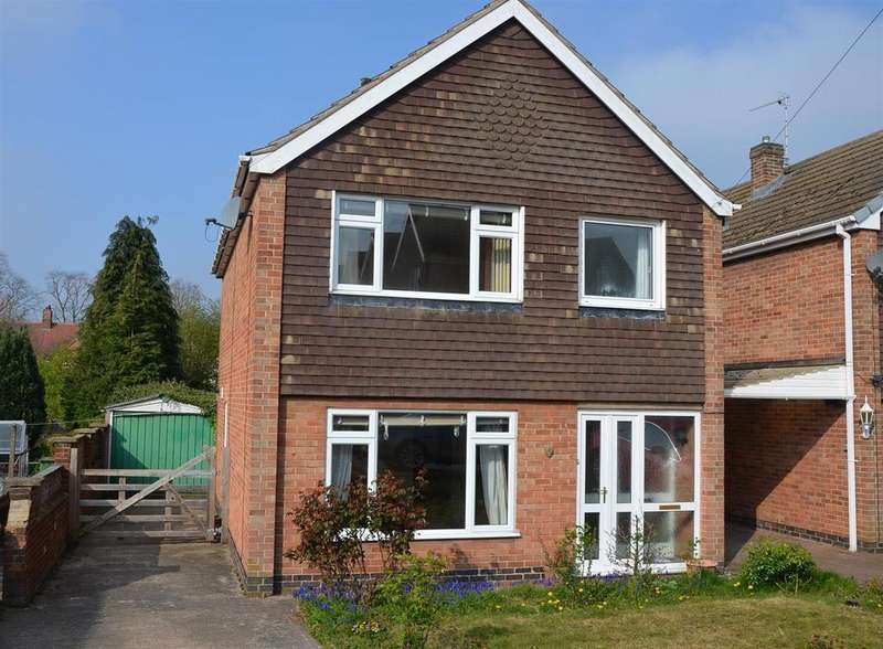 3 Bedrooms Detached House for sale in Willowbrook Close, Ashby-De-La-Zouch