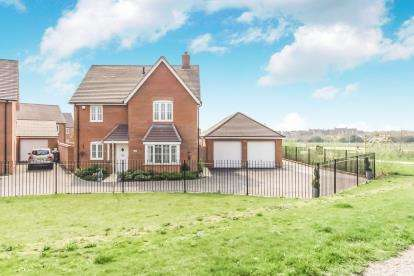 4 Bedrooms Detached House for sale in Appledine Way, Bedford, Bedfordshire, .