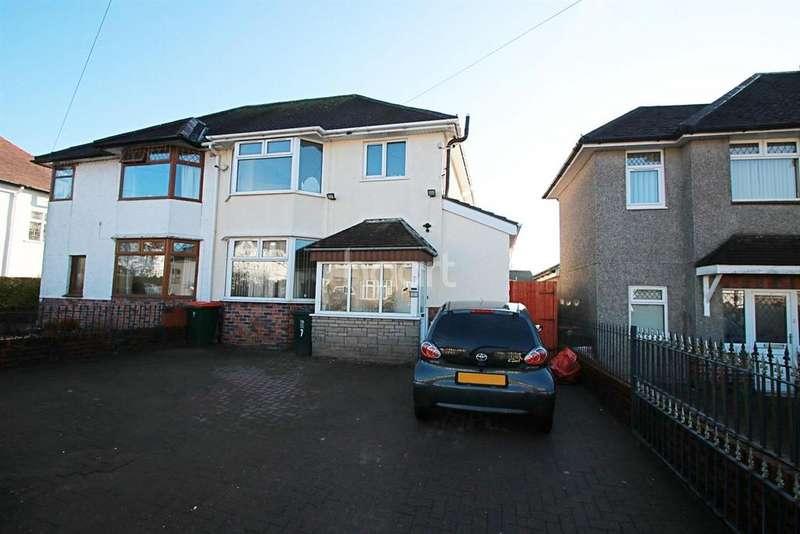 3 Bedrooms Semi Detached House for sale in Burnfort Road, Newport, NP20