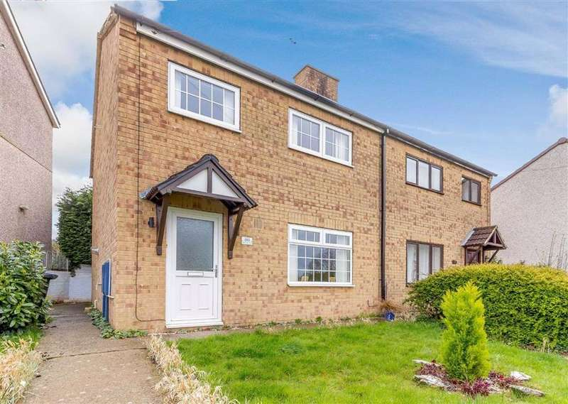 3 Bedrooms Semi Detached House for sale in Buttington Road, Sedbury, Chepstow