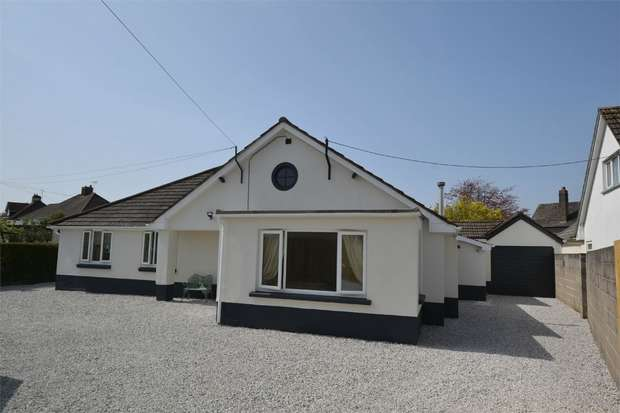 3 Bedrooms Detached Bungalow for sale in St Johns Lane, BARNSTAPLE, Devon