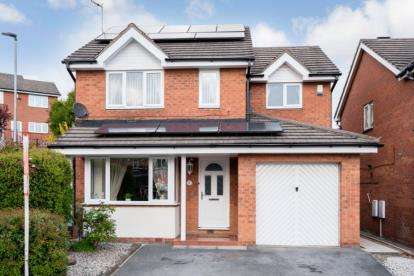 4 Bedrooms Detached House for sale in Fitzwilliam Court, Rawmarsh, Rotherham, South Yorkshire