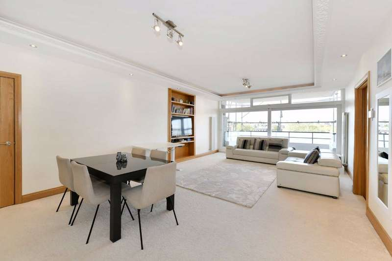 3 Bedrooms Flat for sale in London House, London, NW8