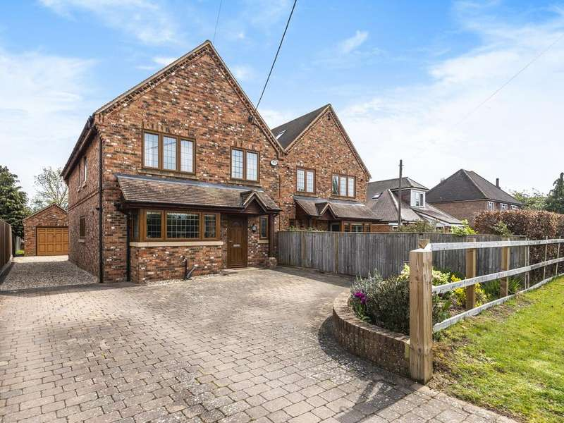 4 Bedrooms Detached House for sale in Clares Green Road, Spencers Wood, Reading, RG7
