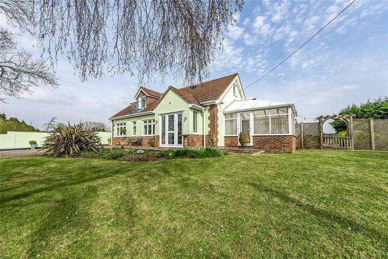 4 Bedrooms Detached House for sale in Woollard Lane, Publow, Somerset, BS14