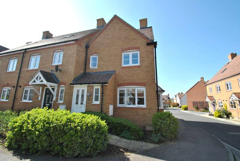 3 Bedrooms End Of Terrace House for sale in Garfield, Biggleswade, SG18