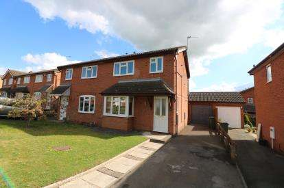 2 Bedrooms Semi Detached House for sale in Well Spring Hill, Wigston, Leicester, Leicestershire