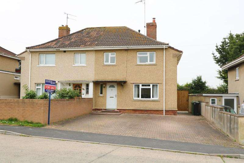 3 Bedrooms Semi Detached House for sale in Haselbury Grove, Saltford, Bristol