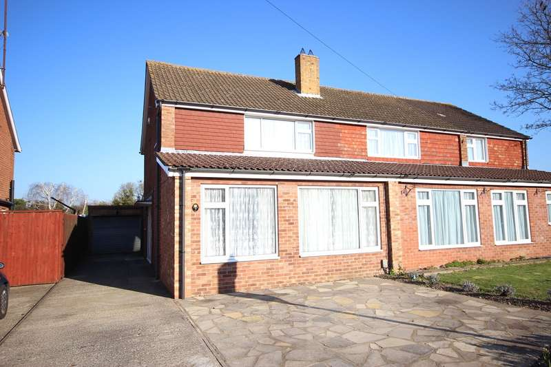 3 Bedrooms Semi Detached House for sale in Harold Road, Barton-le-Clay, Bedfordshire, MK45