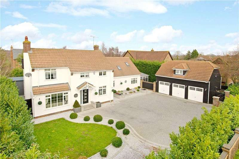 5 Bedrooms Detached House for sale in High Street, Greenfield, Bedford, Bedfordshire