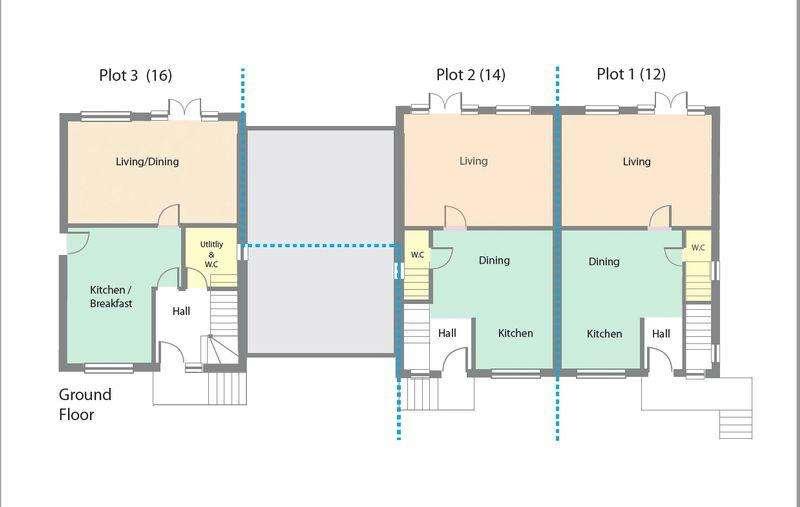 4 Bedrooms Town House for sale in Eastfields, Bishop Norton, Market Rasen