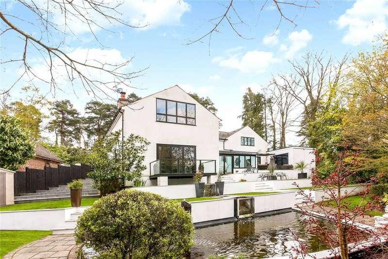 5 Bedrooms Detached House for sale in Woodbridge Drive, Camberley, Surrey, GU15