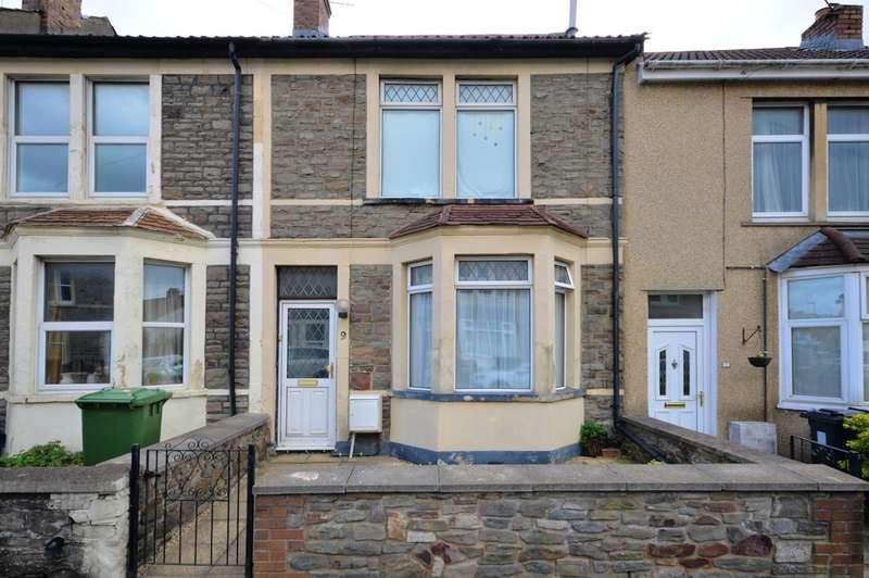 3 Bedrooms Terraced House for sale in Albert Road, Hanham, BS15