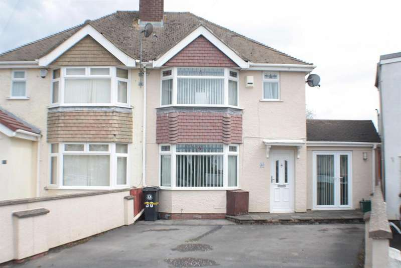 3 Bedrooms Semi Detached House for sale in Willoughby Close, Headley Park, Bristol, BS13 7NN