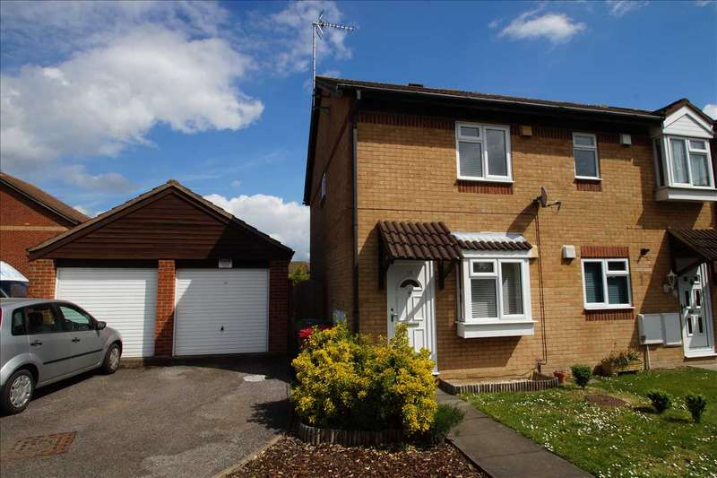 2 Bedrooms End Of Terrace House for sale in Gladstone Way, Windsor Meadows, Cippenham