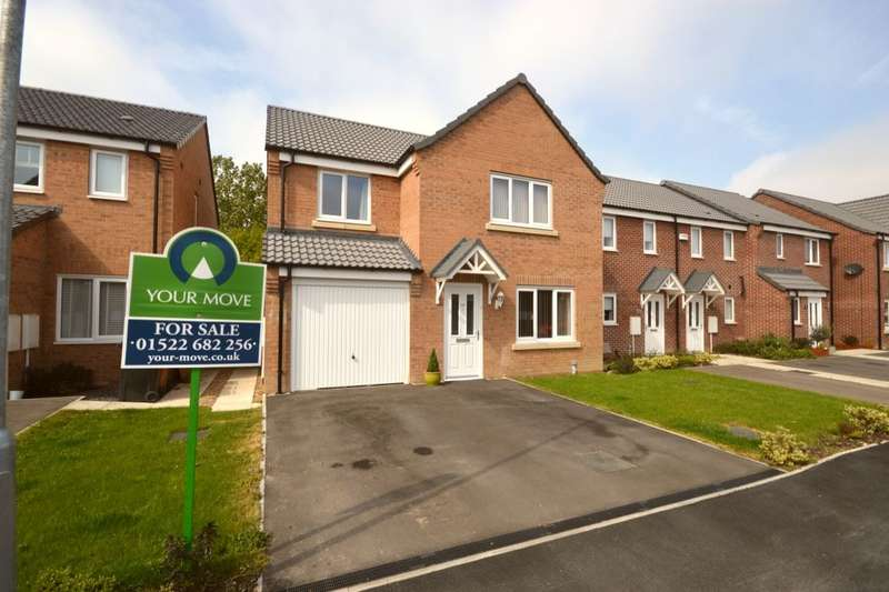 4 Bedrooms Detached House for sale in Furnace Close, North Hykeham, Lincoln, LN6