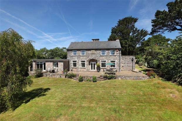 4 Bedrooms Detached House for sale in Westerland, Marldon, Paignton