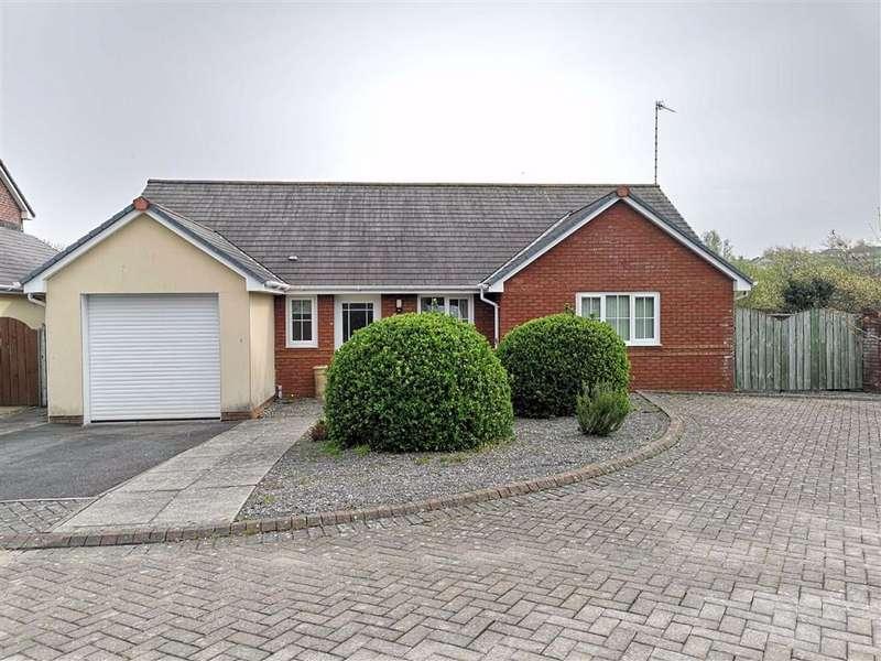 3 Bedrooms Detached Bungalow for sale in Clos Sulien, Llanbadarn Fawr, Aberystwyth