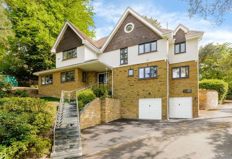 5 Bedrooms Detached House for rent in Branksome Park Road, Camberley, Surrey