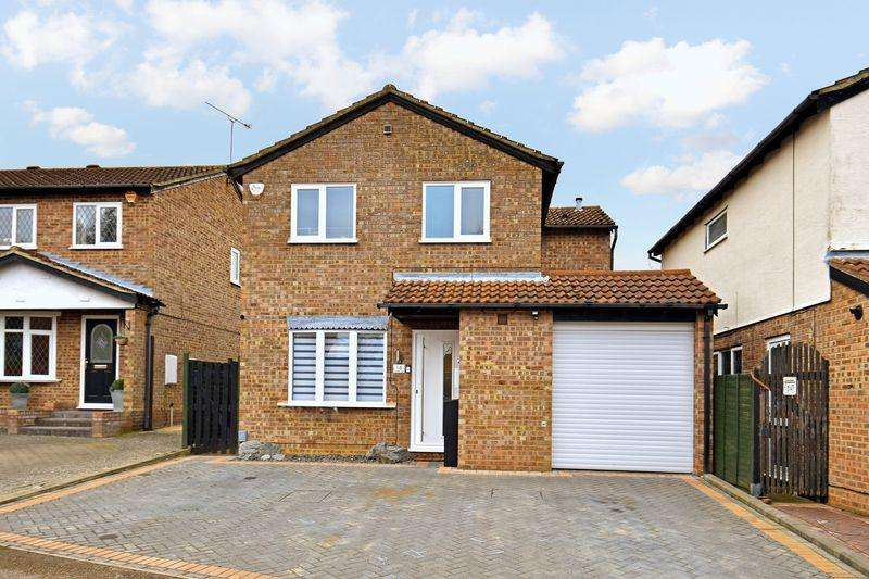 4 Bedrooms Detached House for sale in Celandine Drive, Luton