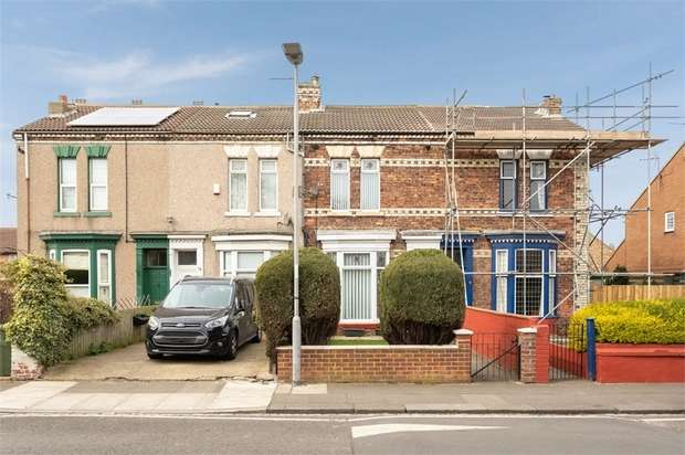 3 Bedrooms Terraced House for sale in South Parade, Hartlepool, Durham