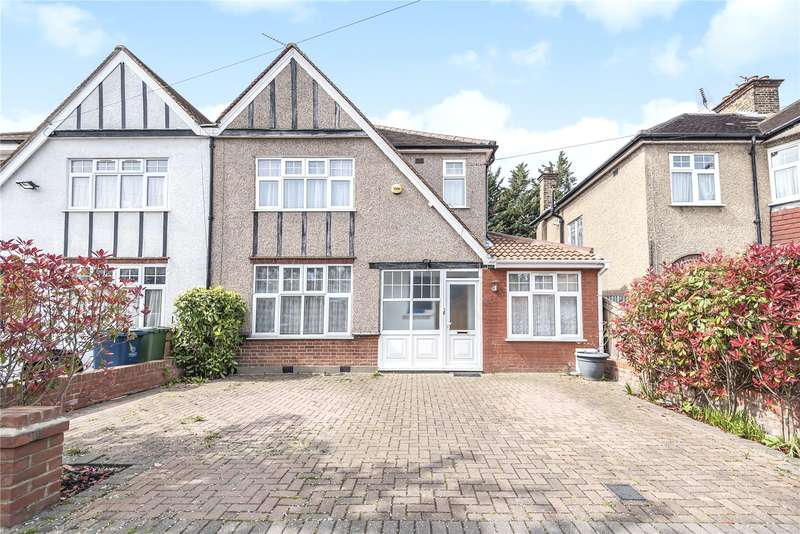 4 Bedrooms Semi Detached House for sale in Lankers Drive, Harrow, Middlesex, HA2