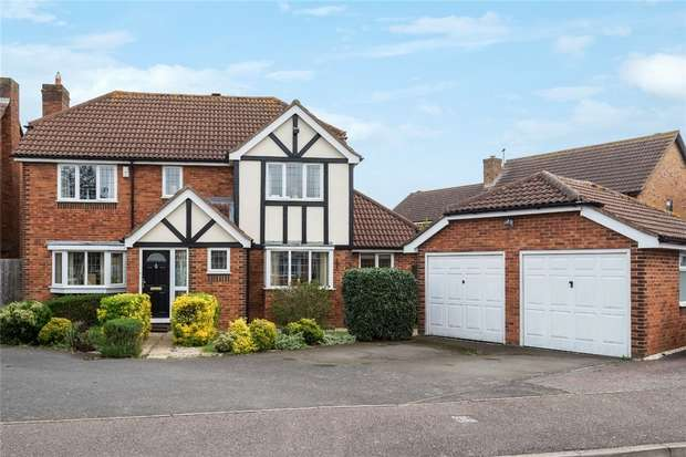 4 Bedrooms Detached House for sale in Quenby Way, Bromham, Bedford