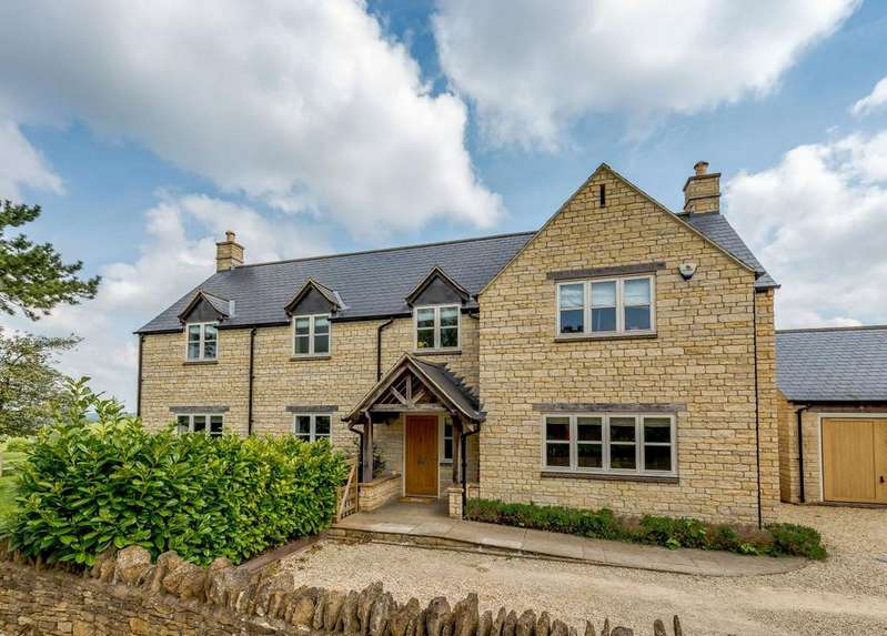 4 Bedrooms Detached House for sale in Cockley Road, Farthinghoe, Brackley, Northamptonshire