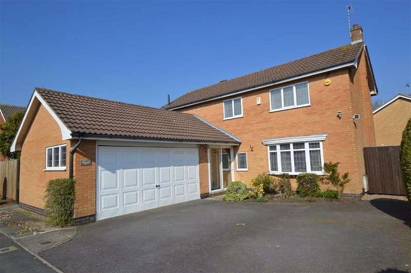 4 Bedrooms Detached House for sale in Saddlers Close, Glenfield