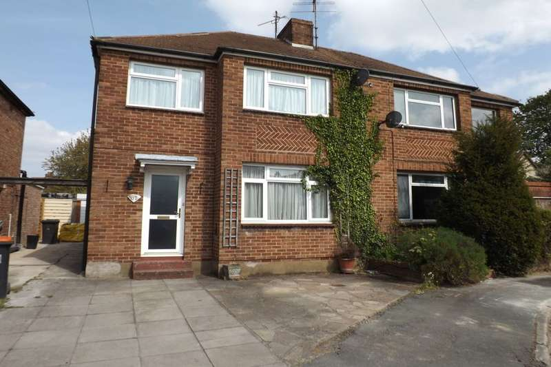 3 Bedrooms Semi Detached House for sale in Ridgeway Drive, Dunstable, LU5