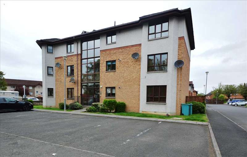 2 Bedrooms Apartment Flat for sale in Elison Court, Motherwell